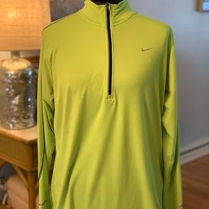 Men's Nike Running pullover.